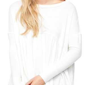 Free People Forever Your Girl Tunic T-Shirt Top